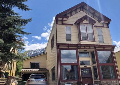 Benton Exterior Ouray Colorado
