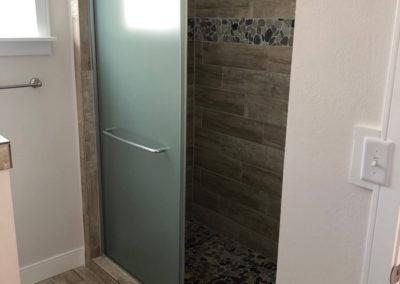 Benton Shower in Ouray Colorado