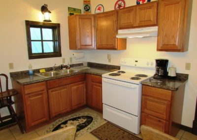 Condo Kitchen in Ouray Colorado