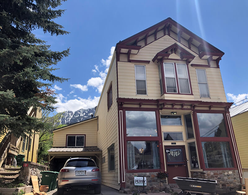 Benton Apartments in Ouray Colorado